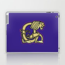 Celtic Lion Letter A 2018 Laptop & iPad Skin