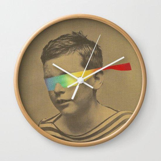 Occhiali cromodimensionali Wall Clock