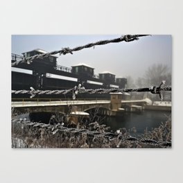 Wired Hydroelectric Canvas Print