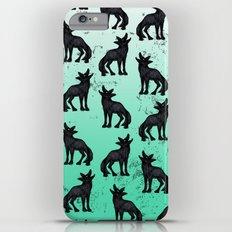 Grey Coyote iPhone 6 Plus Slim Case