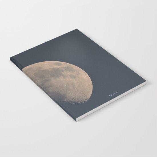 November Half Moon Notebook