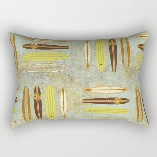 Surf Pattern 4 Rectangular Pillow