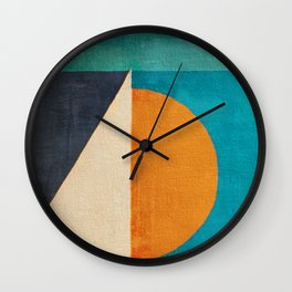 Regata al Tramonto Wall Clock