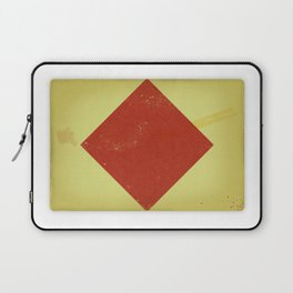 Vintage Nautical Flag Laptop Sleeve