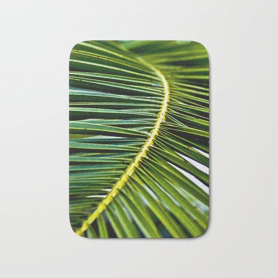 Magic Green Palm Leaves Bath Mat