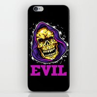 evil iPhone & iPod Skins featuring EVIL by DesecrateART (Infected)