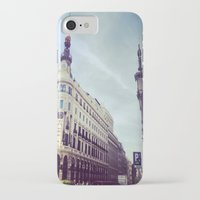 madrid iPhone & iPod Cases featuring Madrid by Theresia Pauls