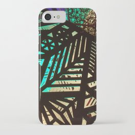 Lines of Light iPhone Case