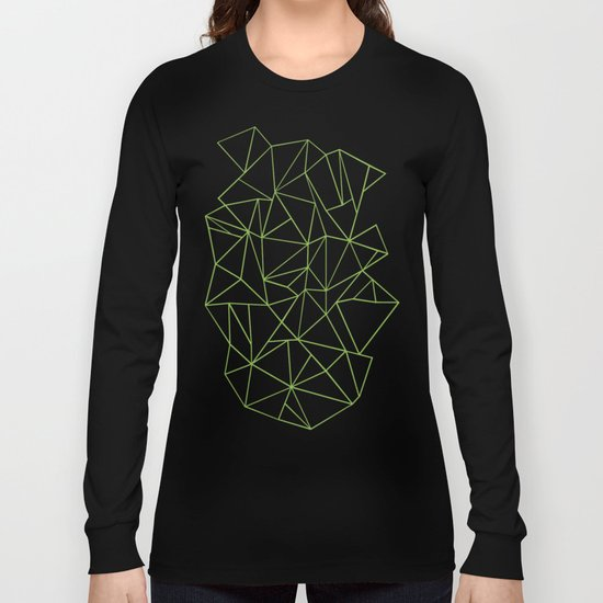 Ab Outline Greeny Long Sleeve T-shirt