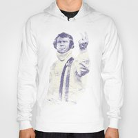 steve mcqueen Hoodies featuring Steve McQueen- King of Cool by Adam Doyle
