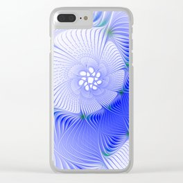 design on white -120- Clear iPhone Case