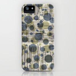 Soda Water Scribble iPhone Case