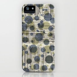 Soda Water Scribble iPhone Case