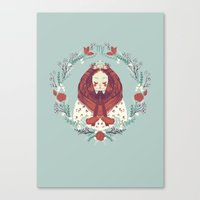 virgo Canvas Prints featuring virgo by Jelena Haeschke