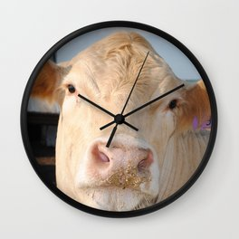 Cowface Wall Clock