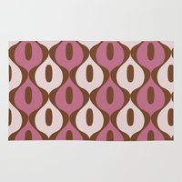 wallpaper Area & Throw Rugs featuring Wallpaper by Small Comforts