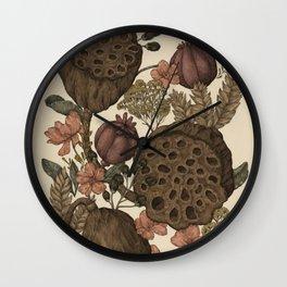 Botanic Garden Wall Clock