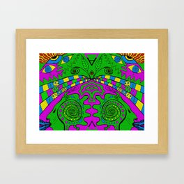 Elemental Rebirth Framed Art Print
