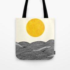 The Grey Waves Tote Bag