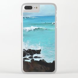 Hurricane Party Clear iPhone Case