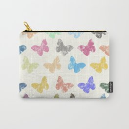 Colorful butterflies Carry-All Pouch