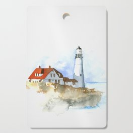 Lighthouse in Morning Light Cutting Board