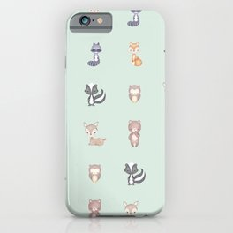 ANIMALS OF THE FOREST iPhone Case