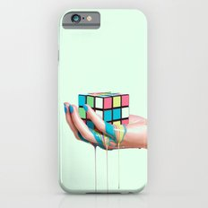 MELTING RUBIKS CUBE Slim Case iPhone 6