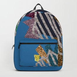 Heartstrings (blue) Backpack