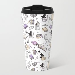 Wizard's Library Travel Mug