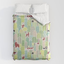 Welcome to the forest! Duvet Cover