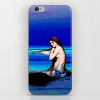 pisces iPhone & iPod Skins featuring Pisces by Danielle Tanimura