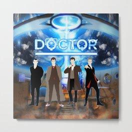 The Doctor Shine Metal Print