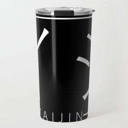 Box Logo Zaijin (White Lettering) Travel Mug
