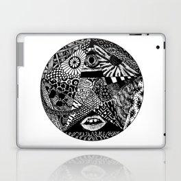B&W Laptop & iPad Skin
