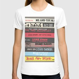 Old School Hip Hop Tape Collection 6 - Cassingles T-shirt