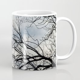 Eagle Looking Out Over the River Coffee Mug