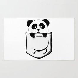 Pocket Panda Onesie Rug