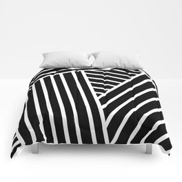 Opical Stripes 2 Comforters