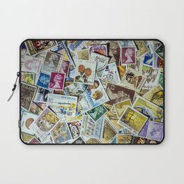 Postage Stamp Collection Laptop Sleeve