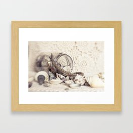 Be Still and Listen Framed Art Print