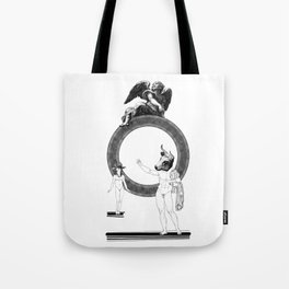 The outrageous promise. Tote Bag