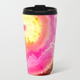 Pink Agate Travel Mug