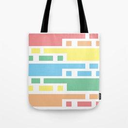 Colorful lines #society6 #decor #buyart #artprint Tote Bag