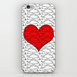 Heart of Laces iPhone Skin