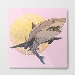Skyshark Metal Print