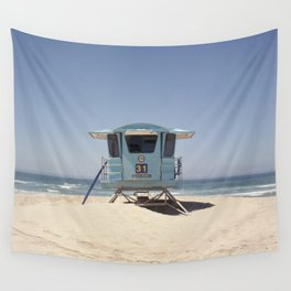 Lifeguard Tower #31 Wall Tapestry