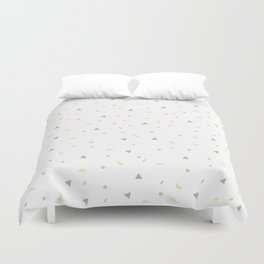 glaze and mixed decorative sprinkles Duvet Cover