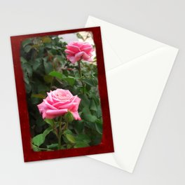 Pink Roses in Anzures 5  Blank P5F0 Stationery Cards