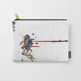 Dos Splatter  Carry-All Pouch